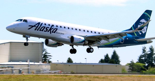 Air101: Alaska Airlines starts Embraer E175 jet service in the state of  Alaska