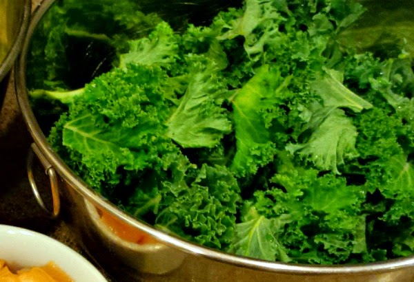 kale is rich in many vitamins. It is a power food with many health benefits