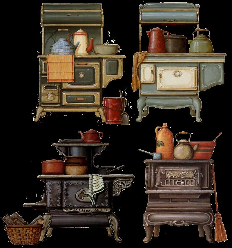 mutfak-temalı-dekupaj-resimleri