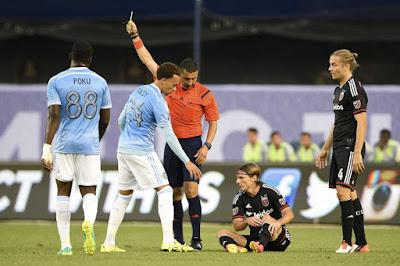 Newy York City gana 4 a 0 a DC United