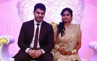 Newlywed Sethu and Umayal
