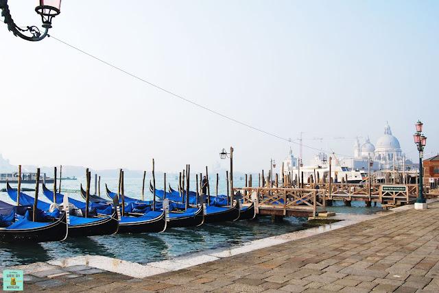 Góndolas en el Gran Canal, Venecia