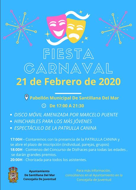 Fiesta de Carnaval en Santillana del Mar 2020