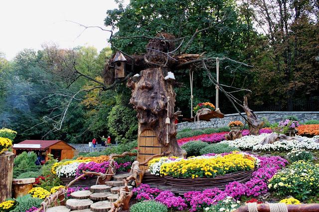 Цветочная компазиция Сятошинского района