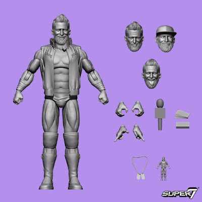 San Diego Comic-Con 2020 First Look: The Major Wrestling Figure Podcast Matt Cardona & Brian Myers Ultimates Deluxe Action Figures by Super7