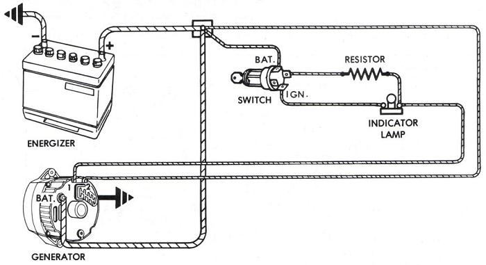 Daihatsu Charade G10 Indonesia  Lampu Indikator Alternator