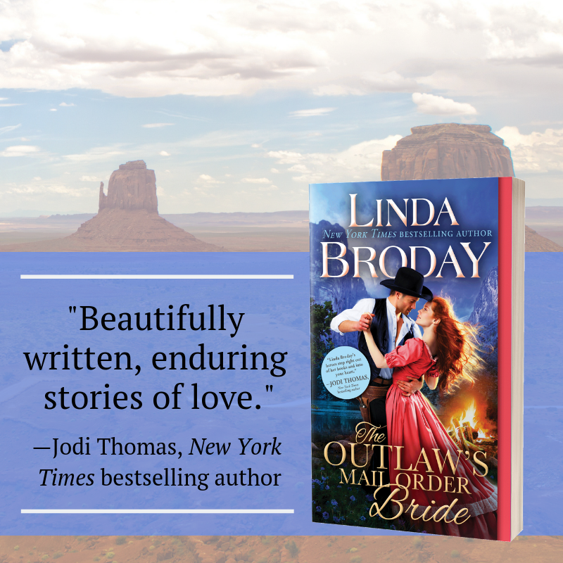 New Release Spotlight: The Outlaw's Mail Order Bride by Linda Broday + Excerpt | About That Story