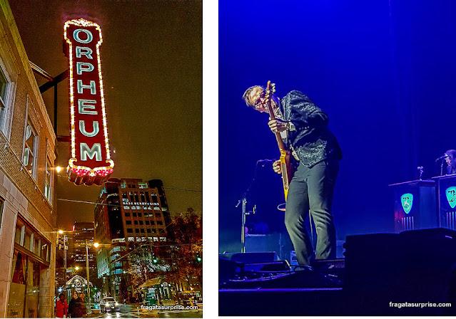 Show do guitarrista Joe Bonamassa no Orpheum Theater de Memphis