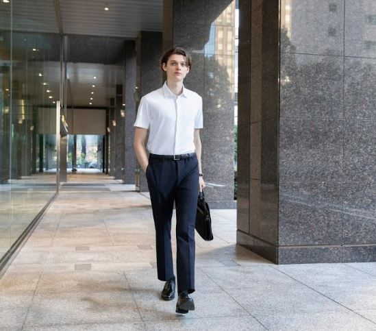 For work wear ankle pants Uniqlo