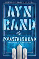 Ayn Rand: The Fountainhead book cover. Great example of how unconditional love is dead.