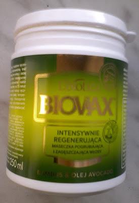 Maseczka do włosów Biovax Bambus i Awokado recenzja
