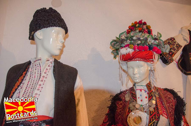 Folk costume - Ethnological museum - village Podmocani, Municipality of Resen