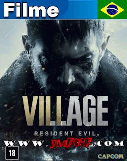 Capa do Resident Evil Village O Filme