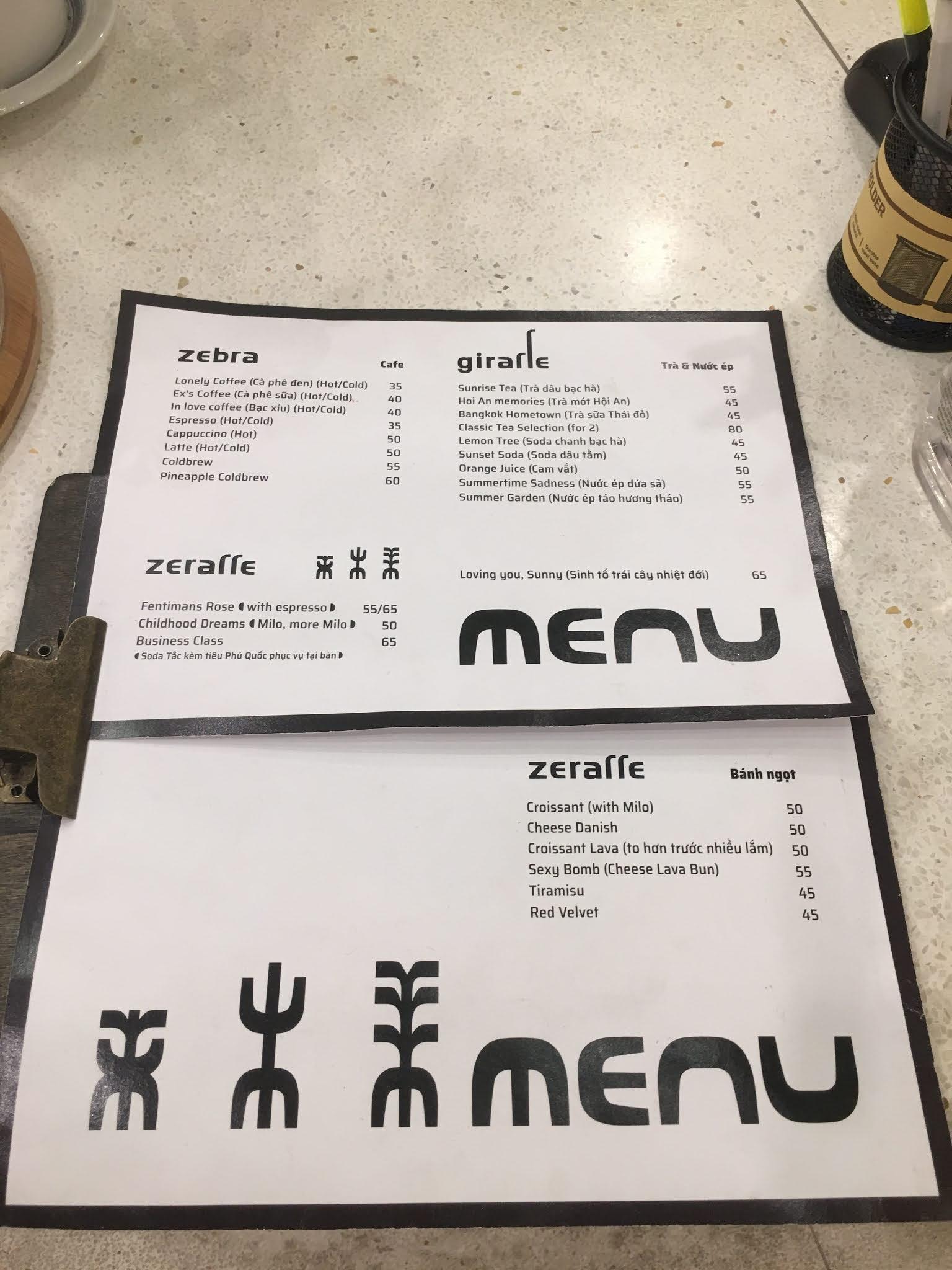 Zeraffe Coffee - Quán cafe hẻm 226 Lê Văn Sỹ gây sốt cộng đồng mạng
