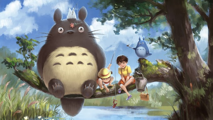 Lindo Papel de Parede do Totoro e Amigos