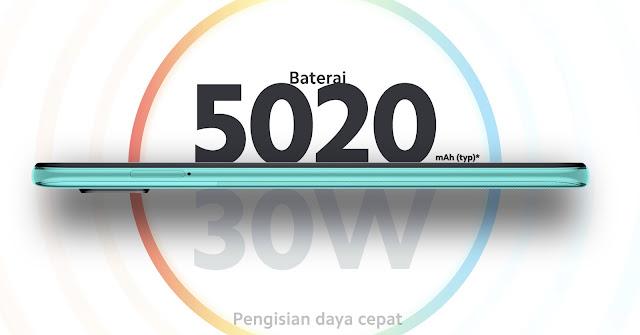 baterai 5.020 mah xiaomi
