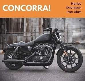Promoção Motto Custom 2020 Concorra Harley Davidson Iron 0KM