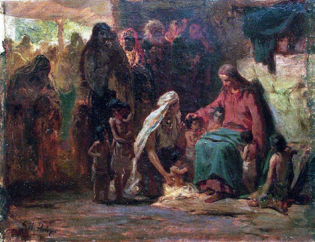 Икона Благословления детей. И. Репин(1890)