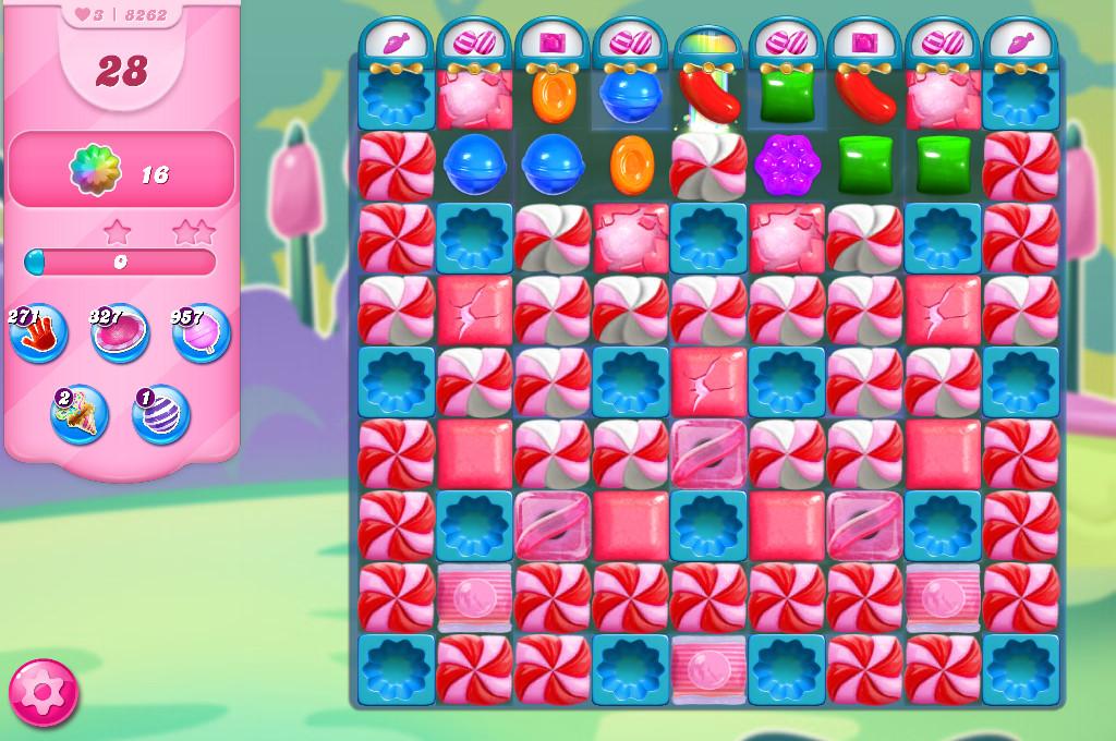 Candy Crush Saga level 8262