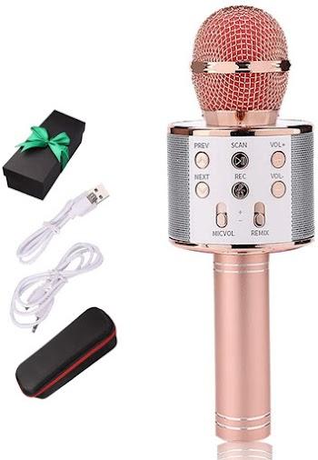 50 OFF Karaoke Bluetooth Wireless Microphone
