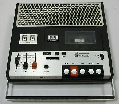 VINTAGE ITT CASETTE RECORDER/PLAYER