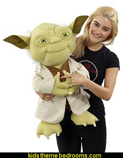 "Yoda 24"" XL Talking Plush Doll  Underground Toys Star Wars Super Deluxe Talking Yoda 24"" Plush"