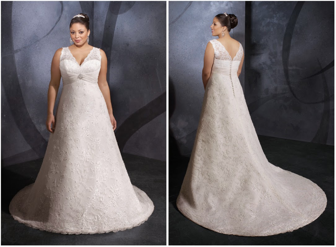 Plus size wedding dresses second marriage for Wedding dresses for older plus size brides