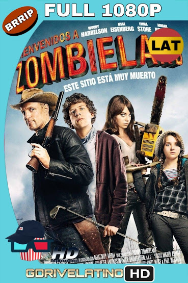 Zombieland (2009) BRRip 1080p Latino-Ingles MKV