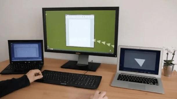 كيف تتحكم في أكثر من كمبيوتر بماوس وكيبورد واحد