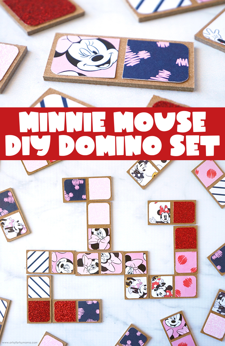 DIY Dominoes with Free Cut File