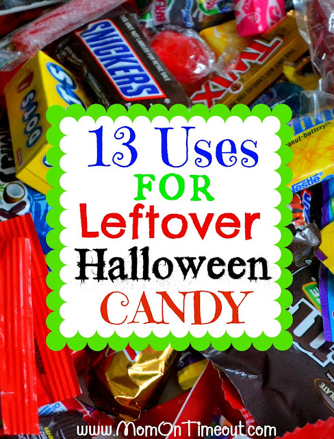 13 Uses for Leftover Halloween Candy from MomOnTimeout.com