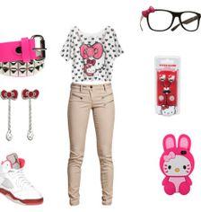 Gambar Baju Hello Kitty Untuk Remaja 5