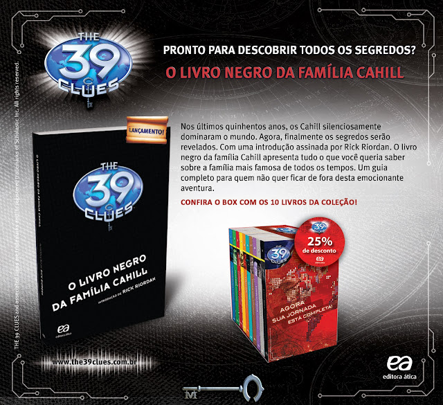 News: O Livro Negro, The 39 Clues. 17