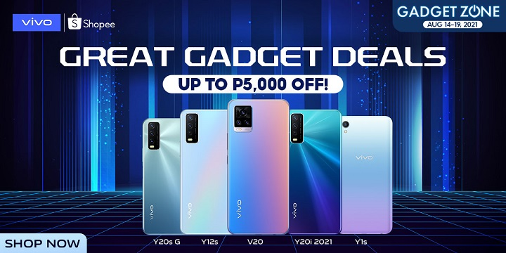 Score Amazing Deals in vivo's Shopee Gadget Zone Sale until August 19