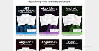 موقع ممتاز جداً لتحميل عشرات الكتب في البرمجة ،التصميم ، الشبكات ، الخوارزميات و لأغلب لغات البرمجة مجانا