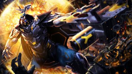 Không kém cạnh những đứa con nuôi của Riot Games, trang phục siêu đẹp Jax Siêu Phẩm được tạo nên bởi người hâm mộ Liên Minh Huyền Thoại