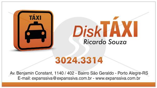 cartao de visita taxistas - Cartão de visita criativo para taxistas