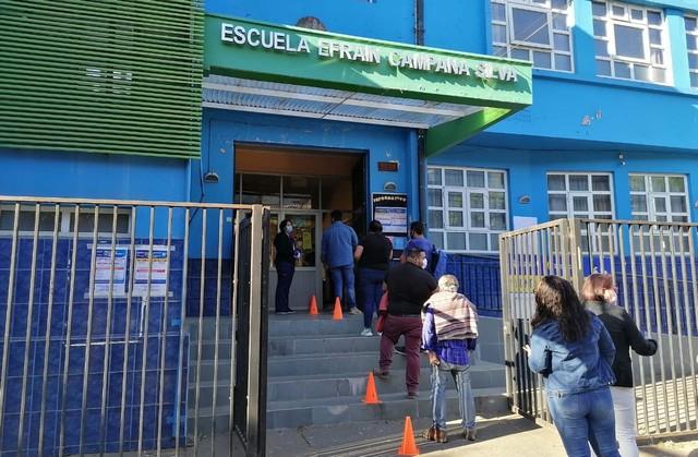 Osorno: Escuelas utilizadas como vacunatorios