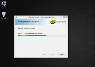 bluestacks installing easy steps for all users...step 3