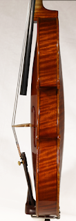 Copy of a Stradivarius Violin Ribs by Nicolas Bonet Luthier - Eclisses d'un violon en copie de Antonio Stradivari