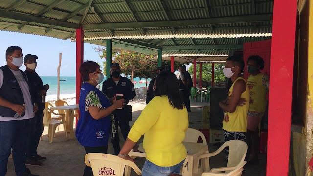 Prefeitura de Goiana intensifica ações nas praias contra a Covid-19
