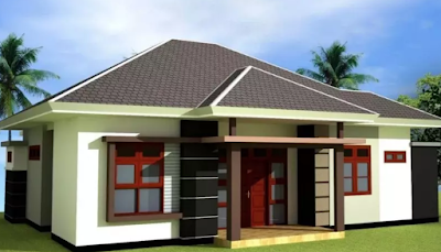 Model atap rumah minimalis gambar trapesium
