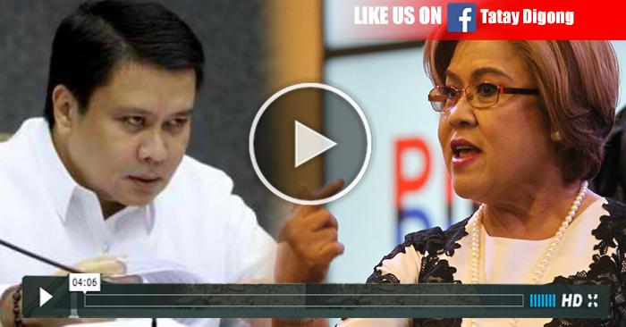WATCH: Jinggoy Estrada Idinawit si Leila De Lima na UTAK ng PDAF Scam!