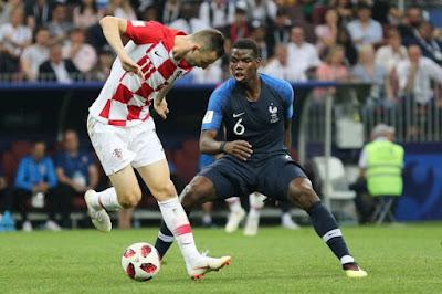 منتخب كرواتيا ضد فرنسا