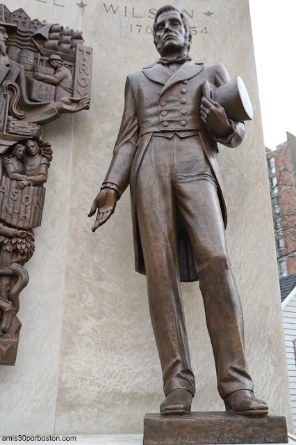Escultura de Samuel Wilson en Arlington, Massachusetts