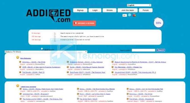 Addic7ed adalah situs download subtitle populer yang banyak diterjemahkan kedalam bahasa Indonesia.