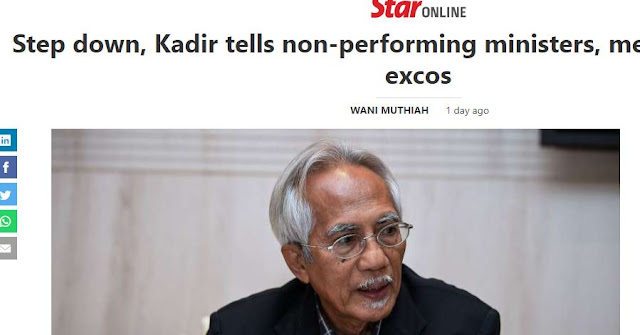 How Many Ministers Have Voluntarily Stepped Down Because Of Non Performance?