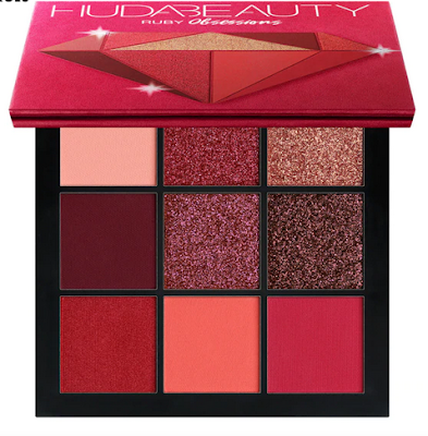 Palette de fards à paupières Ruby Huda Beauty