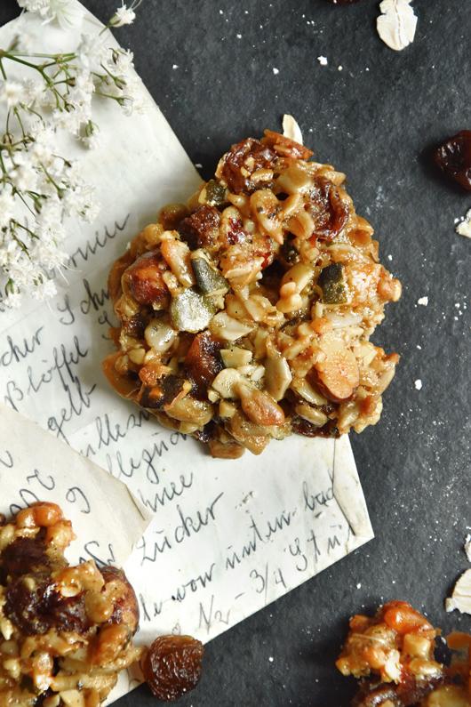 Idealer Snack für das Büro: Müslikekse