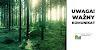 Ministerstwo Środowisko wydało komunikat- w lasach bez maseczek!
